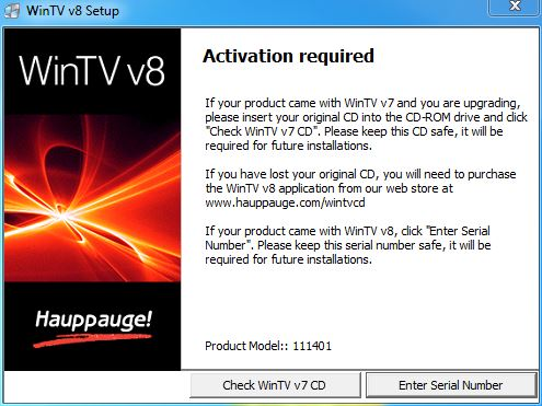 Hauppauge Support | WinTV v8 TV watching application