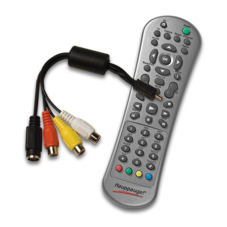 A/V cable set and remote control