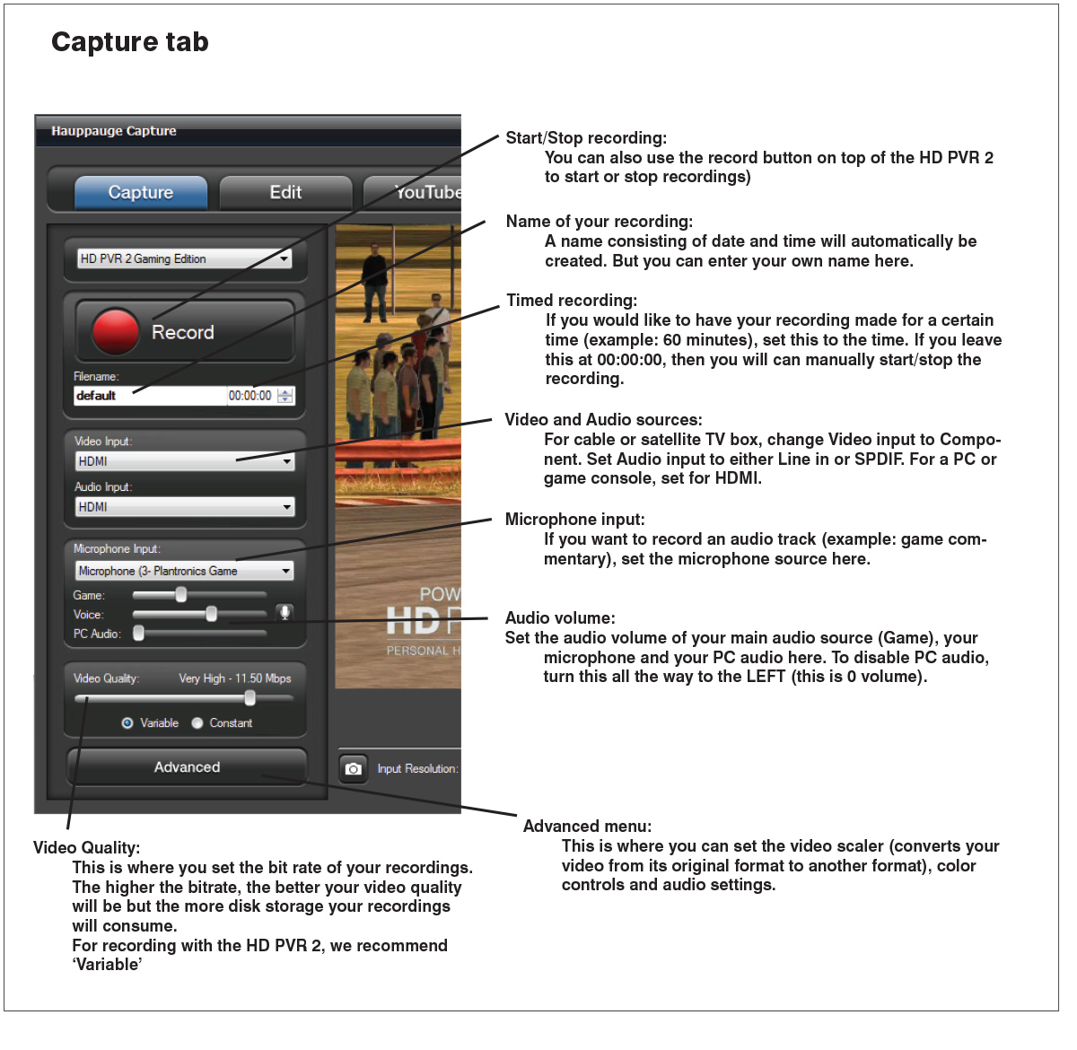 Hauppauge | Hauppauge Capture Application