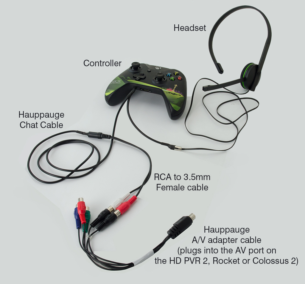 Hauppauge Support Chat Cable Headphone With Mic And Volume Wiring Diagram Click Here For A Connection