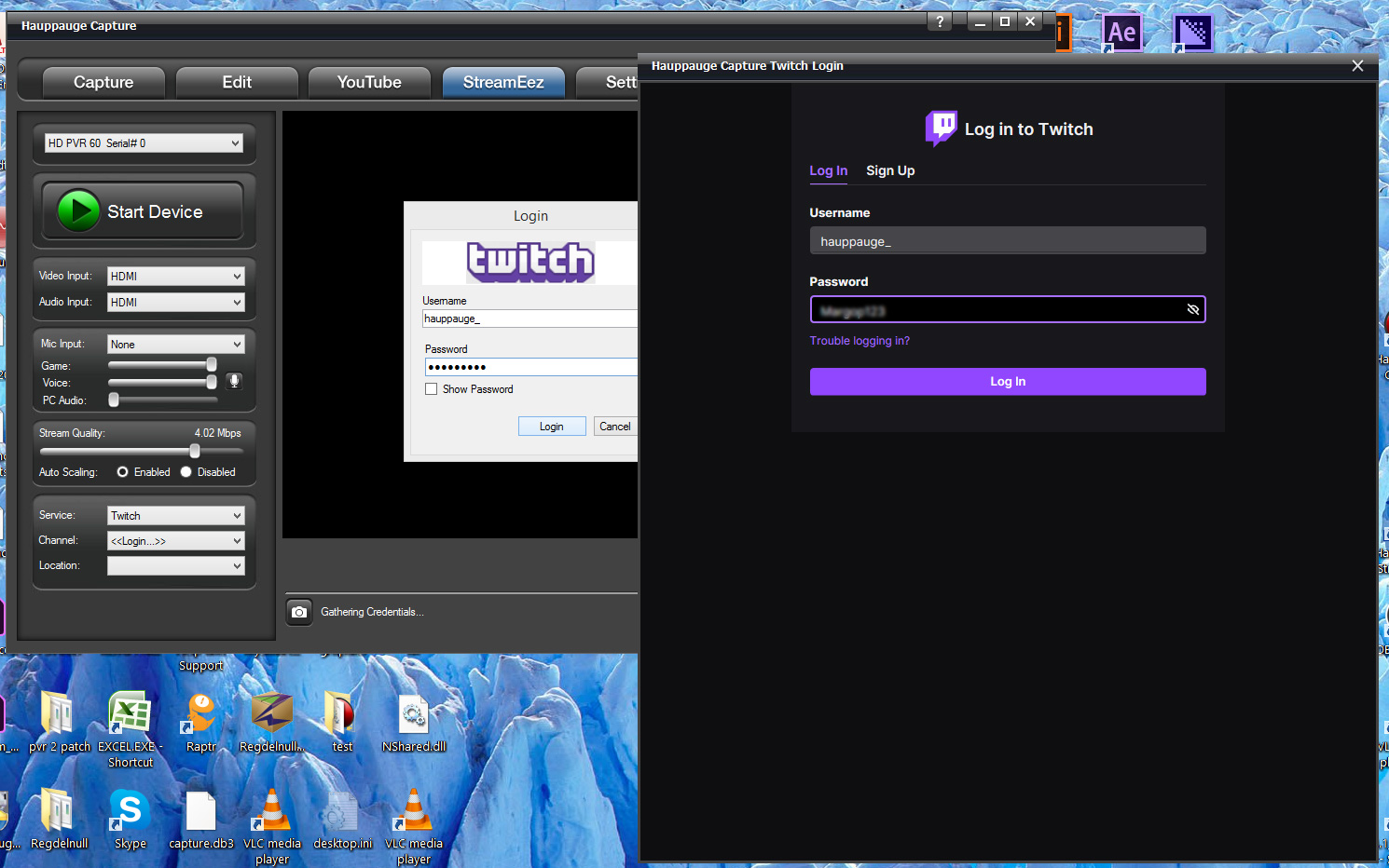 Twitch setup step 1