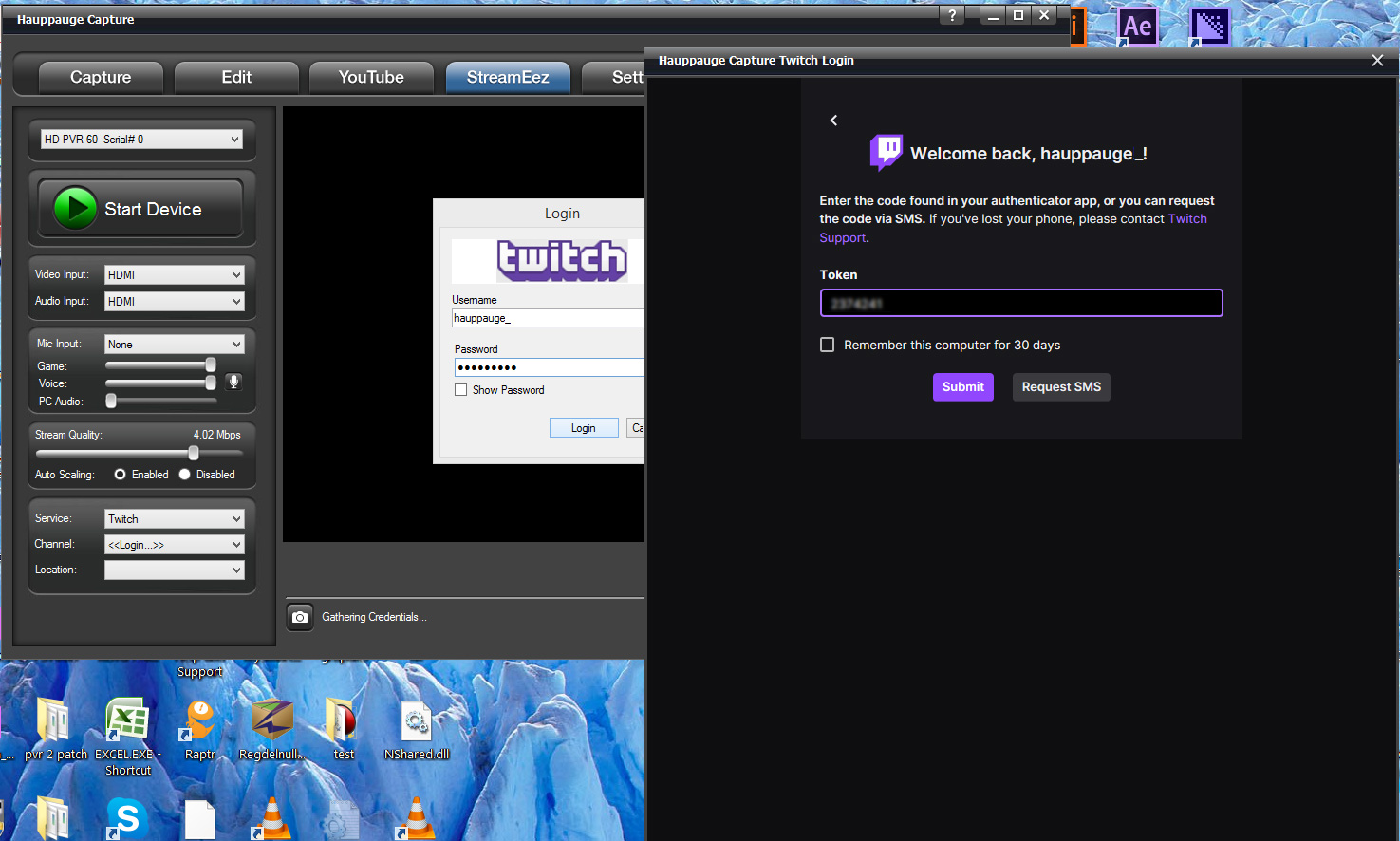 Twitch setup step 2