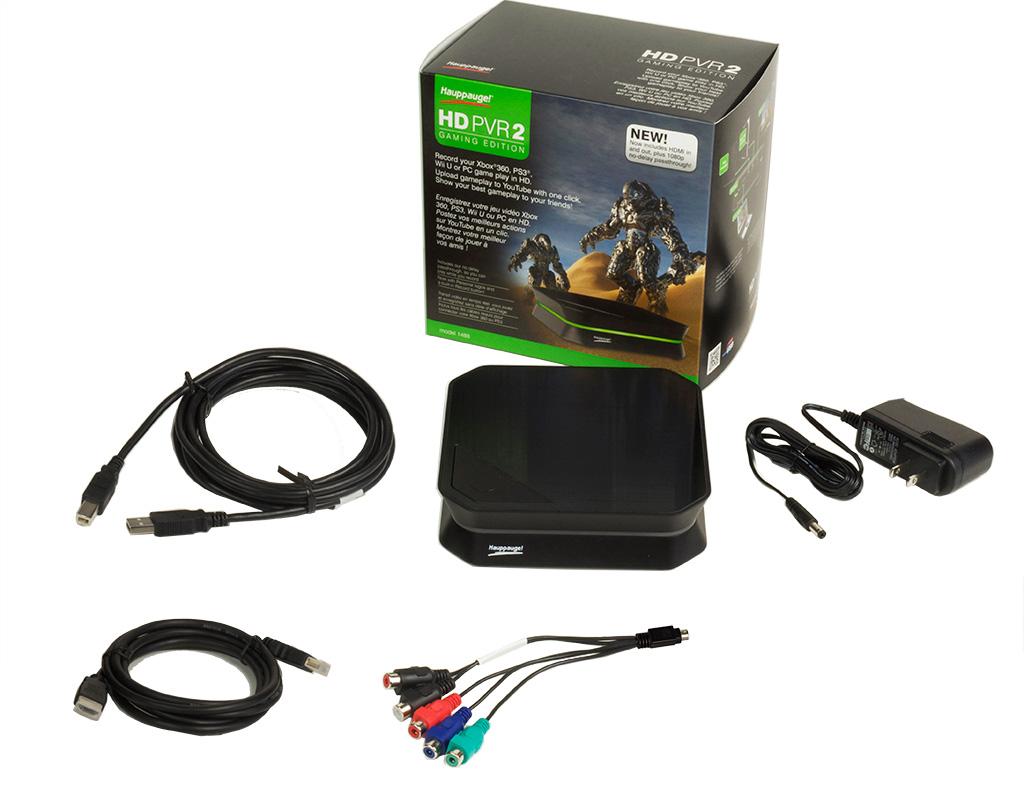 Hauppauge | HD PVR 2 Gaming Edition Product Description