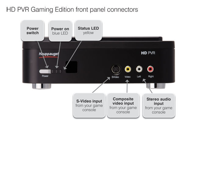 Thread: Video Recorder Hauppauge HD PVR Gaming Edition