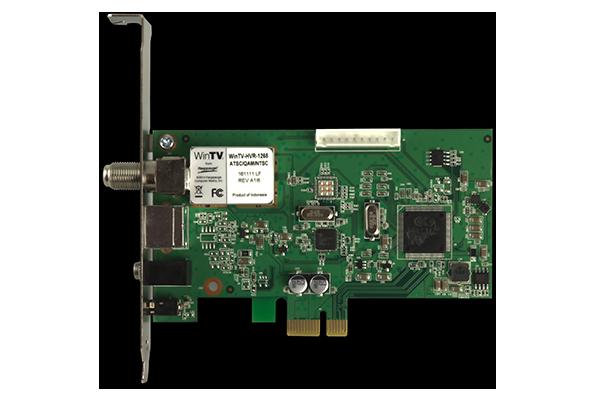 Conexant Hauppauge WinTV-quadHD (Model 1651xx−2, Dual ATSC/QAM)