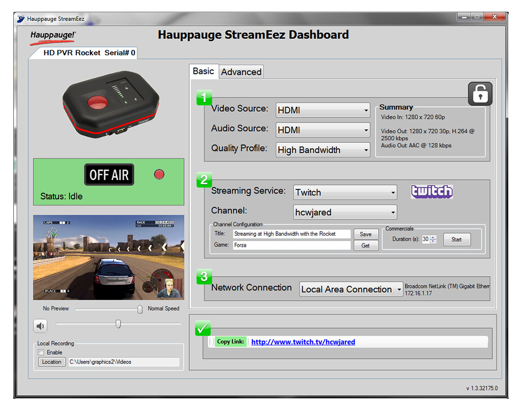 Hauppauge Hd Pvr 2 Gaming Edition Product Description Red Dot Ac Unit Wiring Streameez Application