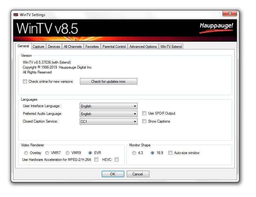 Hauppauge | WinTV v8 for Windows