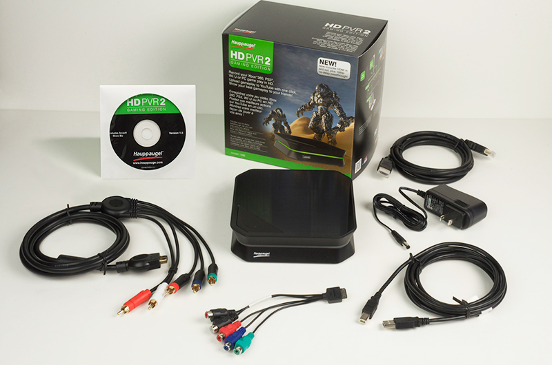 Hauppauge HD PVR 2 Gaming Edition Plus Game